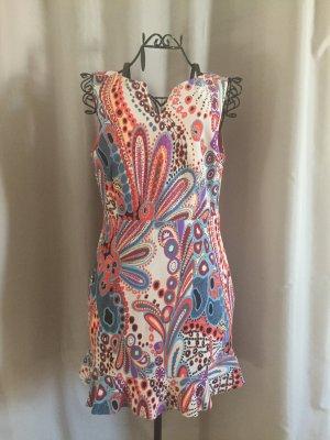 Geblümtes H&M Kleid mit Rückenausschnitt