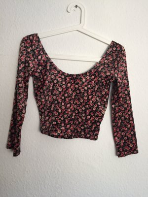 Geblümtes Hollister Cropped Top