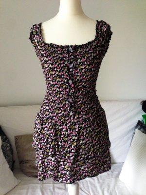 Geblümtes Kleid trend Größe 34/36 XS/S