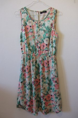 Vila Midi-jurk veelkleurig Polyester