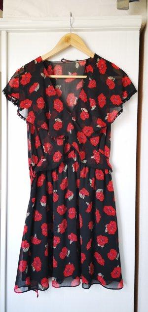 Geblümtes Kleid von Zara
