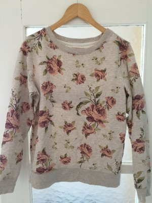 Geblümtes leichtes Sweatshirt