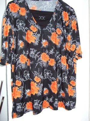 geblümtes  Shirt Gr. 44/46 ( L )