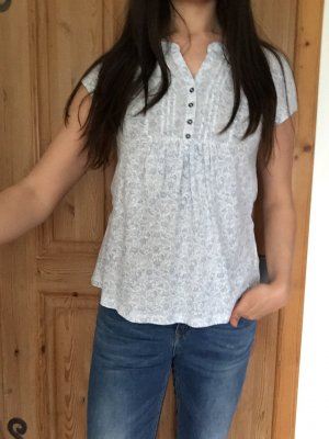 geblümtes T-Shirt / Bluse