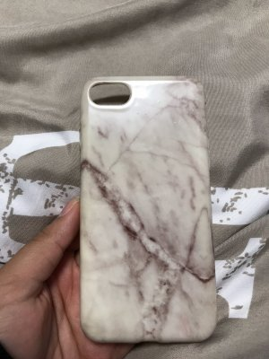 Gebrauchte IPhone 7 Hülle Silikon in Marmor Optik