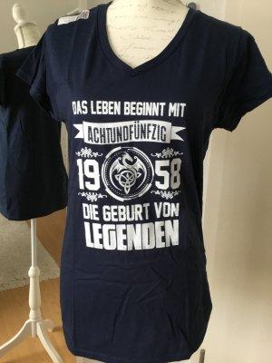 Geburtstagsshirt -neu- für alle junggebliebenen 58er