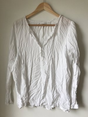 Friendtex Blouse en crash blanc