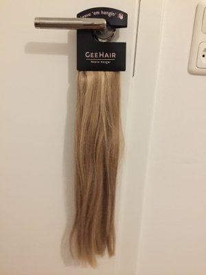 Geehair extensions Echthaar Clip in blond