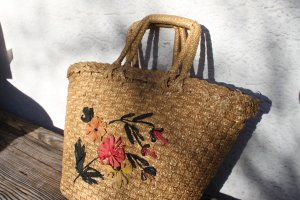 geflocht.Korbtasche, Vintage, guter Zustand, stabil!!! Einkaufstasche