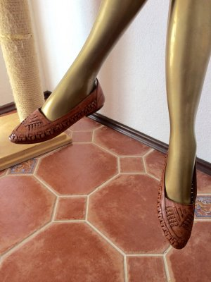 Geflochtener Lederschuh von Tiffany