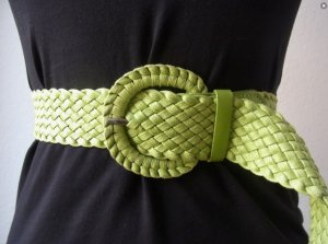 Vintage Braided Belt multicolored
