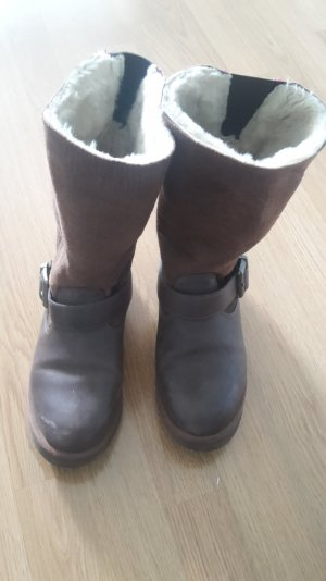 Buffalo Boots brown leather