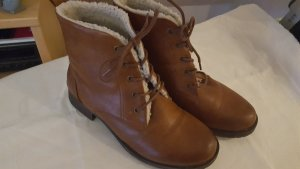 Graceland Desert Boots cognac-coloured