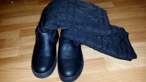 gefütterte Damen Schuhe/ Stiefel in schwarz Gr. 37