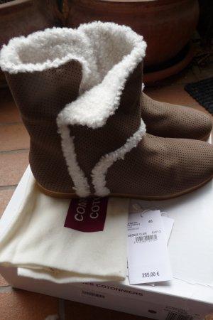 Gefütterte (Fell) Stifeletten/ Boots/ kurze Stiefel. Gr. 39,5-40. Neu.
