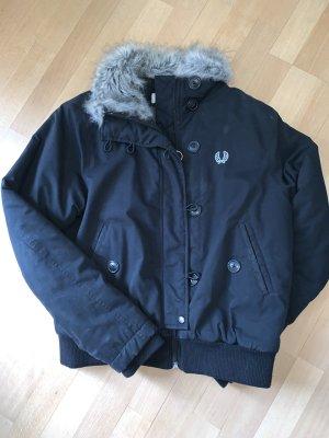 Fred Perry Flight Jacket black-grey