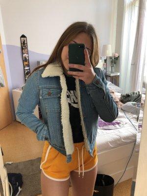 Gefütterte Jeansjacke