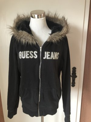 Guess Hoody black-gold-colored