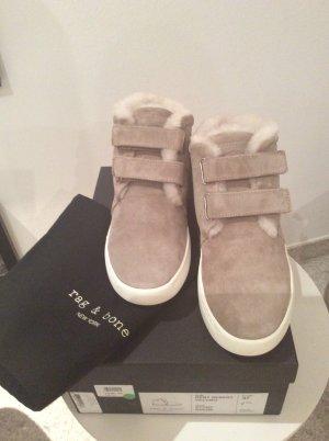 Rag & bone Sneaker con strappi grigio chiaro