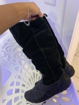 Geox Fur Boots black
