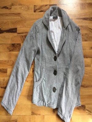Gefütterte Sweat-Jacke im Blazerstil