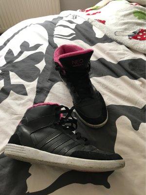 Adidas NEO Veterschoenen zwart-roze