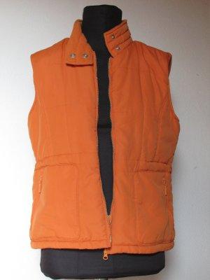 Chaleco de piel naranja claro Poliéster