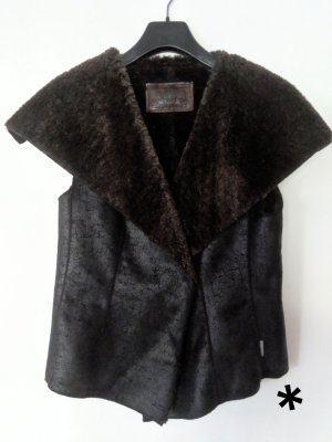 Marc Cain Fake Fur Vest multicolored
