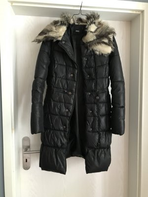 Gefütterter Wintermantel von Asos mit Fake Fur Kragen
