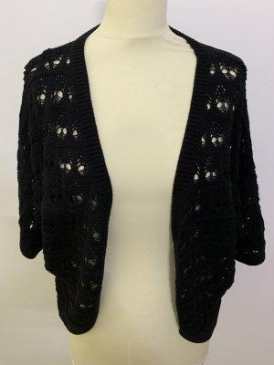Gina Benotti Knitted Bolero black