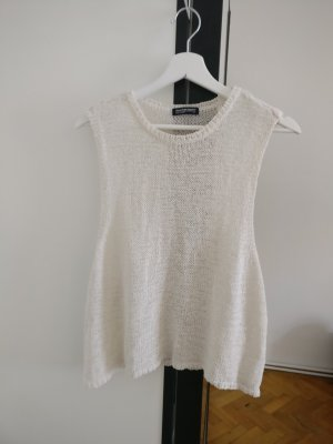 American Apparel Knitted Top white