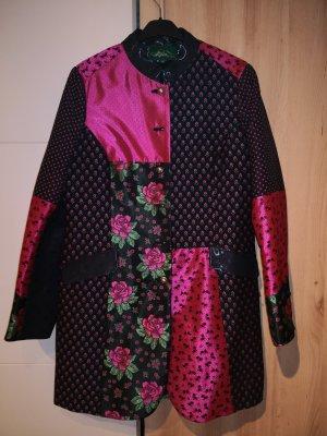 Alpin de luxe Frock Coat black-pink