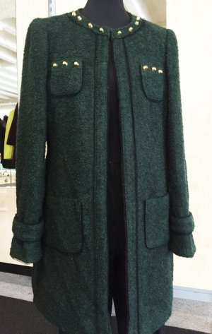 Madeleine Frock Coat dark green