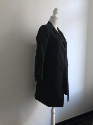 Uniqlo Lange blazer zwart