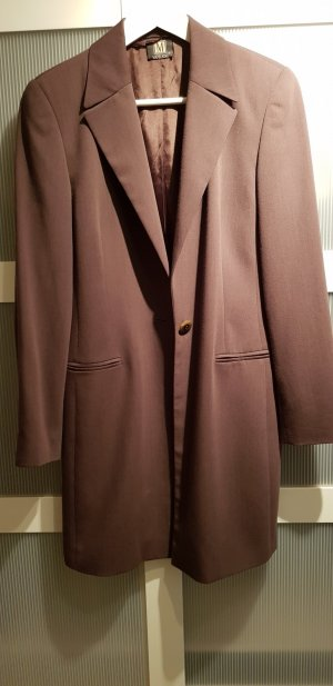 Madeleine Frock Coat grey brown-brown