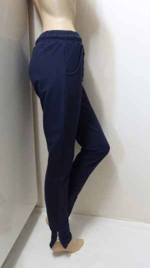 Sweat Pants dark blue mixture fibre