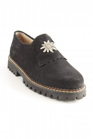 Geier Wally Desert Boots black-silver-colored casual look