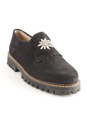Geier Wally Desert Boots schwarz-silberfarben Casual-Look