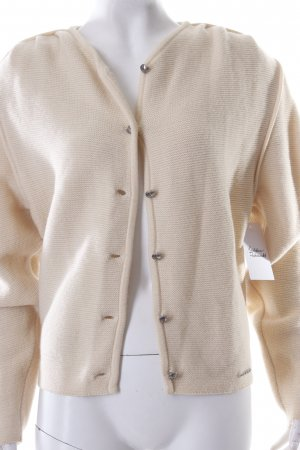 Geiger Strickjacke hellgelb Country-Look