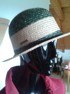 Geiger Chapeau de paille kaki-brun sable