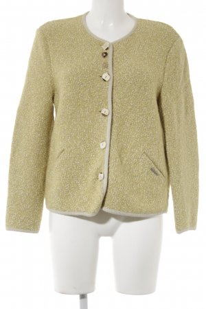 Geiger Giacca tradizionale giallo lime puntinato stile country