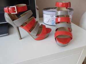 Guess Strapped pumps salmon-light grey others