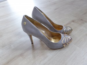 Blink Tacones altos color plata-color oro
