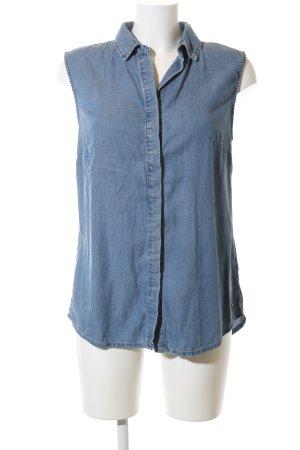 Sonderangebot beliebte Marke wie man kauft Geisha Jeansbluse blau Casual-Look