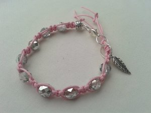 Bangle silver-colored-pink