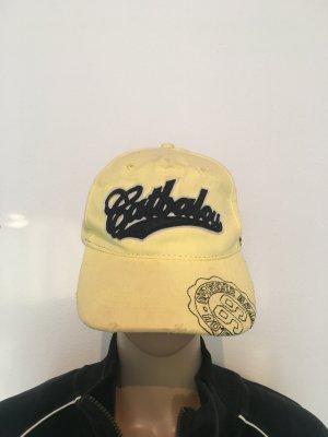 Berretto da baseball giallo-blu scuro Cotone