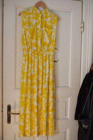 Gelb gemustertes Sommerkleid von 5 Preview in Gr. S (neu)