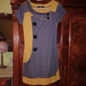 gelb/graues Kleid