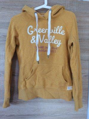 gelb-orange Pullover h&m