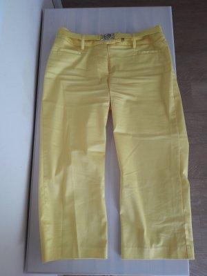 H&M Pantalon 3/4 jaune